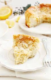 Lemon Ricotta Almond Cake earthly taste