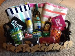 honeymoon gift basket made this for my cousin she loved it
