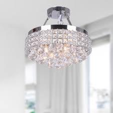 unique crystal chandelier light fixtures flush mount crystal chandelier lighting for room top lamps