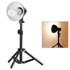 com neewer table top photography studio lighting kit kit includes 2 18 45cm table top light stands 2 light heads with reflector 2 110v 45w