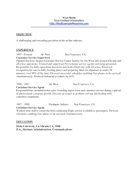 Example Of Resume For Customer Service Representative Elegant Resume