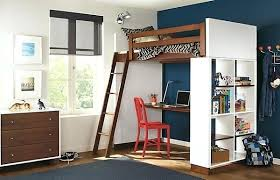 bed with office underneath. Bed With Office Underneath View In Gallery Organized Shelf And A Desk The Loft T
