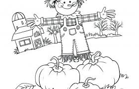 Kindergarten Fall Coloring Pages The Weekly World