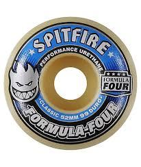 spitfire 52mm. spitfire formula four 52mm 99 duro skateboard wheels i