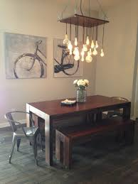 target dining table and chairs with simple wooden benches and