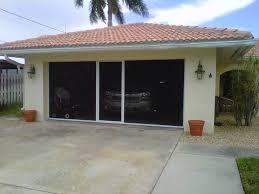 garage door lowesRetractable Garage Door Screens Lowes