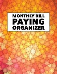 Monthly Bill Paying Organizer Weekly Expense Tracker Bill