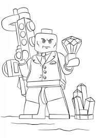 Lego Lex Luthor Coloring Page Free Printable Coloring Pages