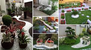 front yard front yard garden design ideas with pebbles dreaded