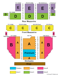 Broadway Theatre New York Seating Chart