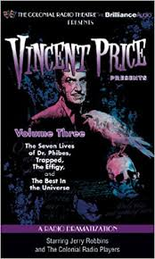 Amazon.it: Vincent Price Presents: A Radio Dramatization - Price, Vincent,  Robbins, Jerry, Colonial Radio Players - Libri in altre lingue