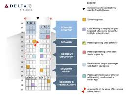 Deltas New Airplane Seating Chart Youtube