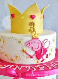 Peppa Pig Cake Ideas Fairy Cake Birthday Party Cake Peppa Pig