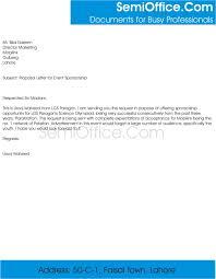 Cover Letter Sponsorship Sponsorship Proposal Cover Letter Term Paper Sample