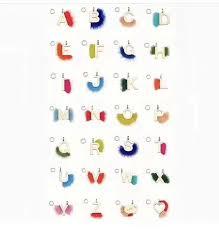 fendi letters necklace bag charms