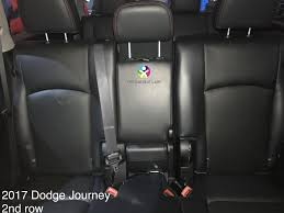 note the 2009 2010 journey does not have a head restraint in 2c since 2016 there is a head restraint for 2c otherwise the back seats are identical in