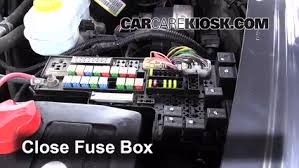 blown fuse check 1998 2003 dodge durango 2002 dodge durango slt 6 replace cover secure the cover and test component