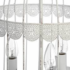 hill interiors white birdcage chandelier hill interiors white birdcage chandelier