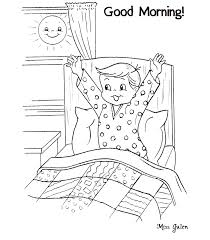 Small Picture Good Morning Printables For Children Color On Pages Coloring