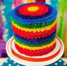 Resep Cara Membuat Rainbow Cake Kukus Manis Dan Lembut Masak Memasak