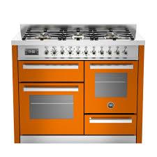 bertazzoni professional series 110 xg 6 burner dual fuel range cooker