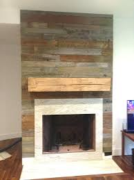 reclaimed wood fireplace mantel s uk