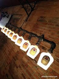 whiskey bottle chandelier items similar to crown royal lighting how make