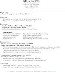 Respiratory Resume Cool Entry Level Respiratory Therapist Resume Physical Therapy For