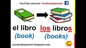 Spanish Singular Plural Chart Spanish Lesson 60 Plural Nouns In Spanish Singular And Plural Rules Making Nouns Plural