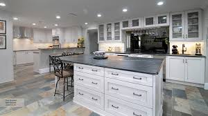 pearl white shaker style kitchen cabinets
