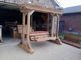 How To Build A Porch Swing Arbors And Stands