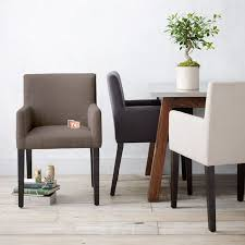 best upholstered dining room arm chairs photos liltigertoo inside with arms designs 19