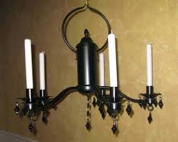 positive candle chandelier non electric m5213980 image of wrought iron candle chandeliers non electric