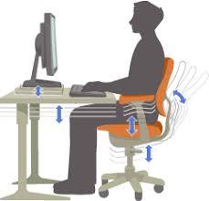 ergonomic computer workstation. Wonderful Workstation Computing Ergonomics Adjustable Desk And Chair And Ergonomic Computer Workstation E