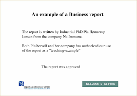 Sample Business Report Sample Business Reports For Students Complete Guide Example 19