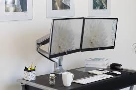 full size of desk workstation quad monitor stand swivel monitor stand rotating monitor stand