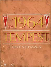 tempest lemans gto wiring diagram manual reprint 1964 pontiac tempest and lemans repair shop manual original