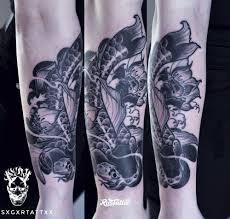 японский карп татуировки в екатеринбурге Rustattooru