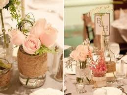 Glass Jar Table Decorations Mason Jar Centerpieces 100 Ideas BravoBride 10