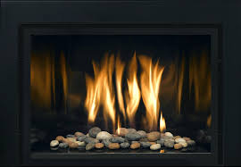 gas fireplace lava rocks embers inserts natural rock ventless