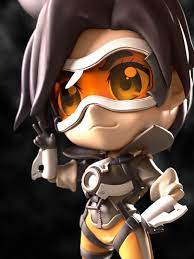 Tracer Chibi by JohnMedved | Anime