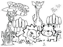 Farm Animal Colouring Pages Printable Coloring Wild Animals Pages