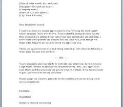 Appreciation Letters Examples 12 Port By Port