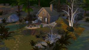 Tiny Country Vacation House Thesims