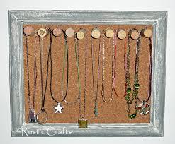 corkboard and wine cork jewelry holder
