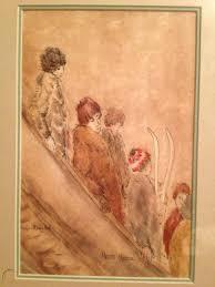 SEATTLE ARTIST PRISCILLA MAYNARD Mixed Media Painting FIGURATIVE Original  Signed | #1727689500
