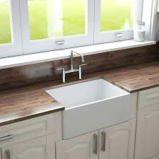 24 fireclay farmhouse kitchen sink by crestwood reversible white 24 farmhouse sink 24 farmhouse sink cabinet