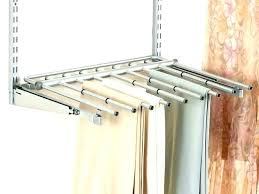 pull out pants rack pant rack pull out pants down hanger for closet organizer storage rolling pull out pants rack pull out trouser
