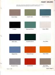 1963 Chevrolet C10 Interior Colors The 1947 Present
