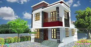 Small Picture Small South Facing Modern Home Kerala Home Design And Floor Plans